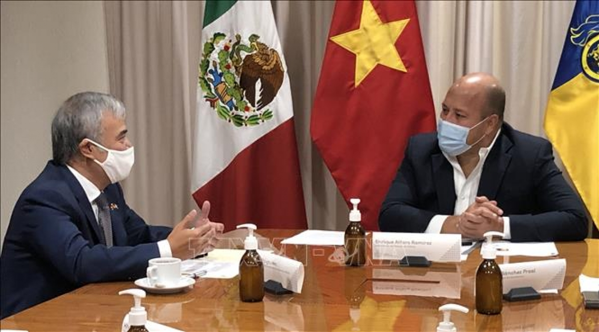 Vietnam boosts cooperation with Mexican state