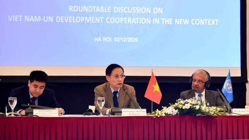 roundtable discussion on vietnam un development cooperation for 2022 2026
