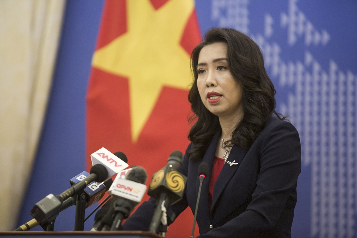 vietnam asks taiwan not to illegally conduct military exercise in truong sa spratly