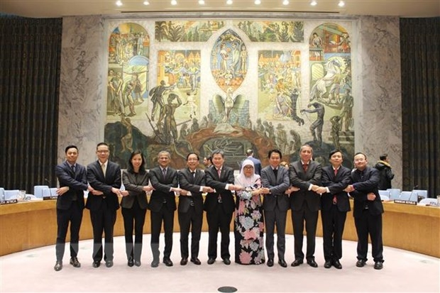 vietnam successfully promotes the un general assembly to ratify the asean un cooperation