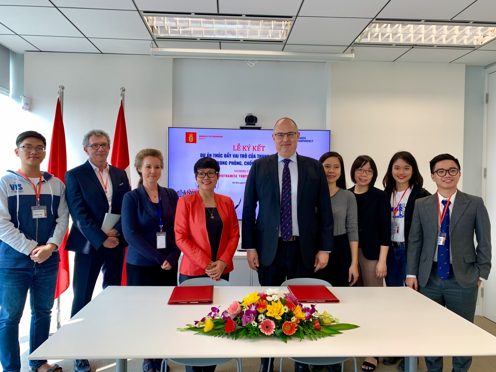 Denmark supports improving integrity education  for Vietnamese youth