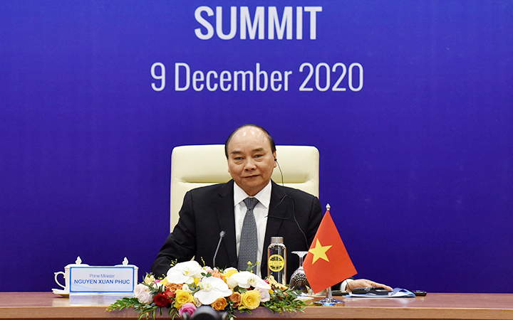 pm affirms solidarity cooperation at 10th cambodia laos myanmar and vietnam summit clmv