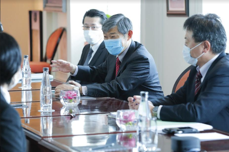 JICA President pays the first overseas visit from the Covid-19 outbreak to Vietnam