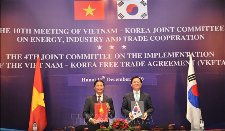 vietnam and roks common action plan to realize trade goal of billions of dollars by 2023