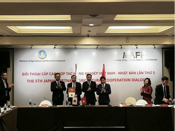 vietnam and japan further promote agricultural cooperation