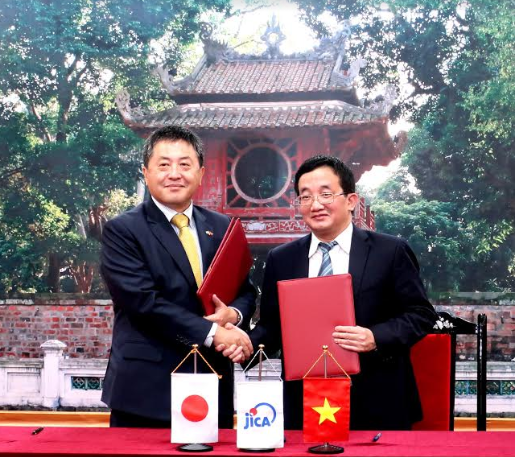 jica and mof sign rd to enhance vietnams international financial reporting standards
