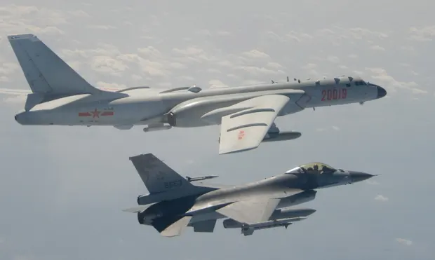 japan and south korea scramble jets to track russian chinese bomber patrols with video