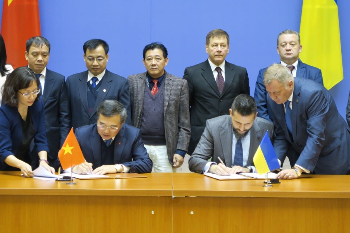 vietnam and ukraine raise bilateral trade to us 1 billion