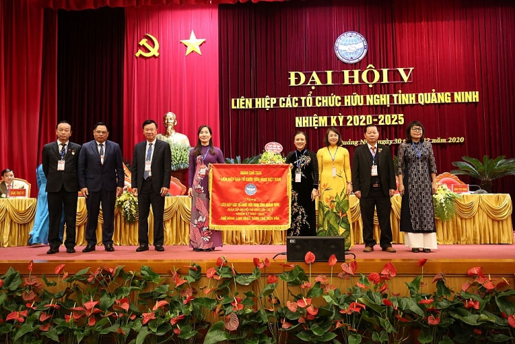 quang ninh vice chairwoman of peoples committee elected as president of provincial union of friendship organizations
