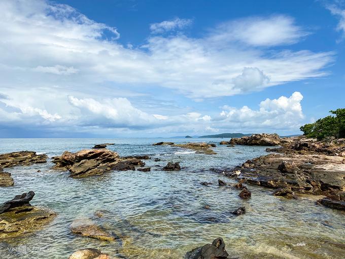 "Ganh Dau cape - ""fish mouth"" of Phu Quoc Island, in video"