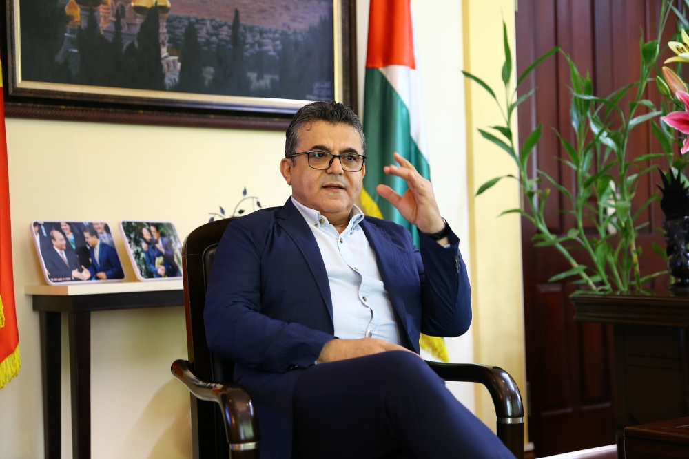Palestinian Ambassador: Vietnam's 15th National  Assembly and People's Councils elections will  succeed