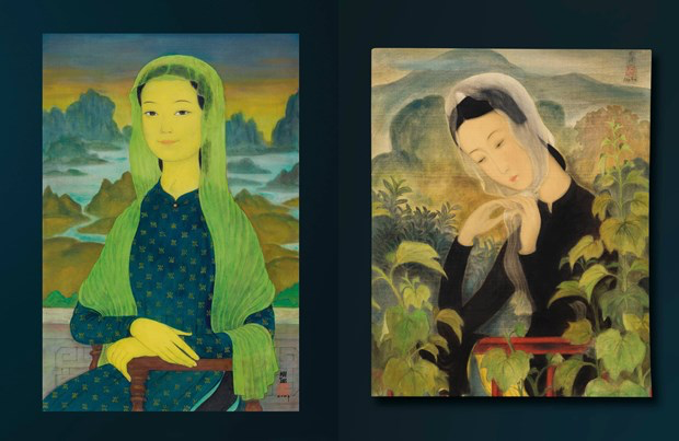 Another Vietnamese painting sold for million dollar in Hong Kong