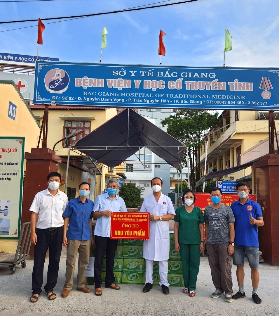Vietnam Times and benefactors support Bac Giang battle against Covid-19