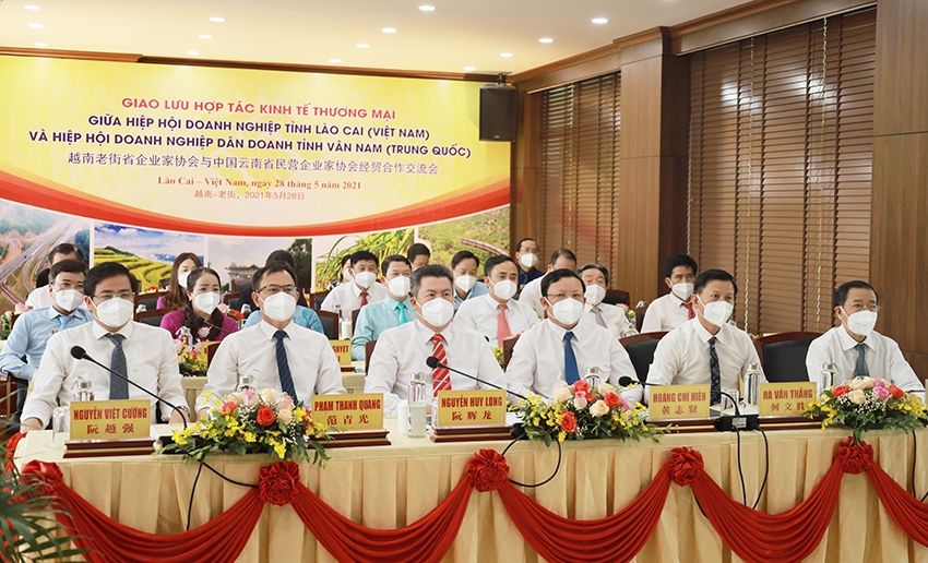 Framework agreement between Lao Cai and Yunnan businesses