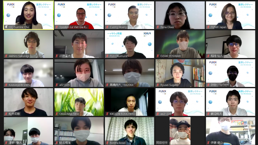 Vietnamese expert inspires 100 Japanese technology students
