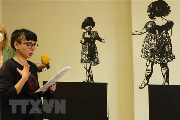 """German artist with new perspective on """"Tale of Kieu"""""""
