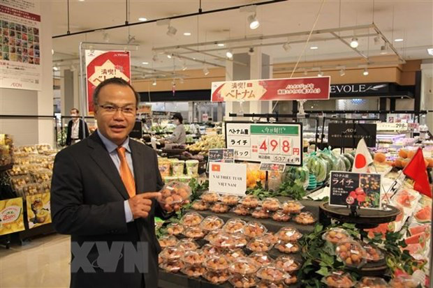 Vietnamese agricultural products introduced to Japan