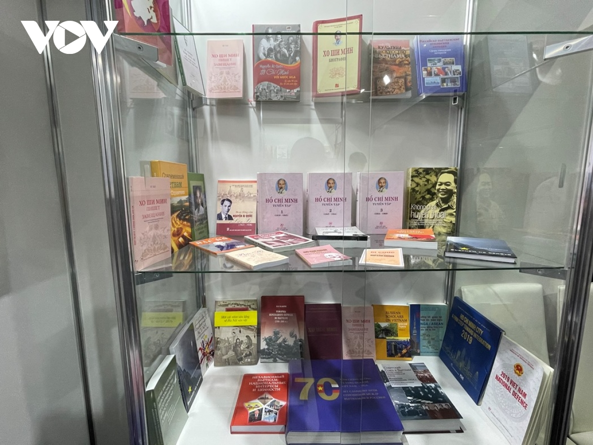 Books about President Ho Chi Minh arouse attention from foreign readers