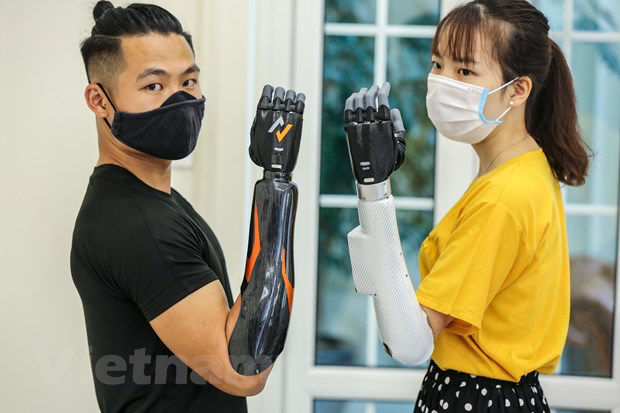 The robotic arm project 'made in Vietnam' has officially been realized. Photo: Vietnamplus