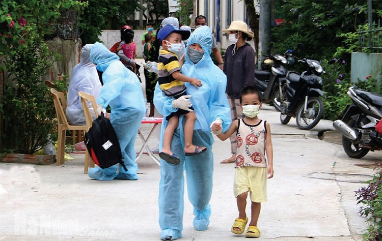 Protection and care for children during Covid-19 pandemic