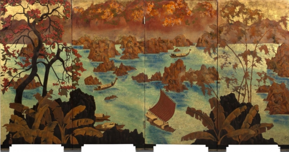 Vietnamese's painting fetches US$ 1 million at French auction