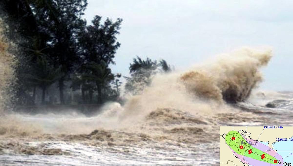 Storm Koguma is forecast to make landfall on June 13.