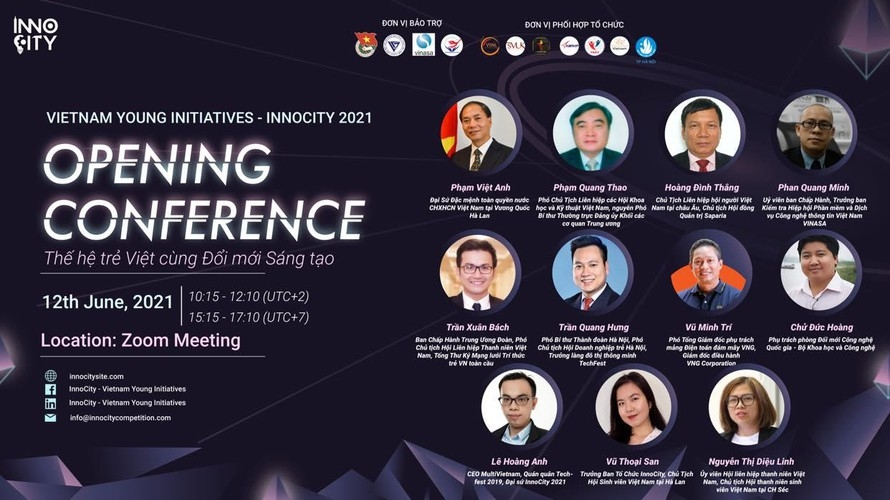 InnoCity 2021 - Vietnam Young Initiatives aim to build better cities