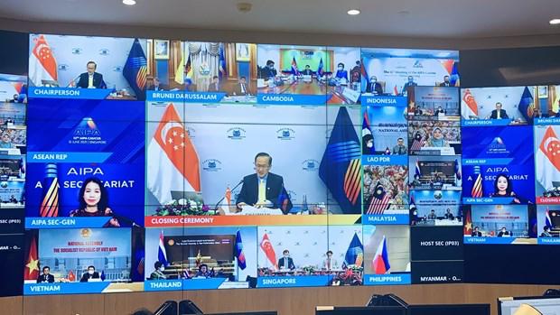 Vietnam attends 12th AIPA Caucus. Photo: VNA