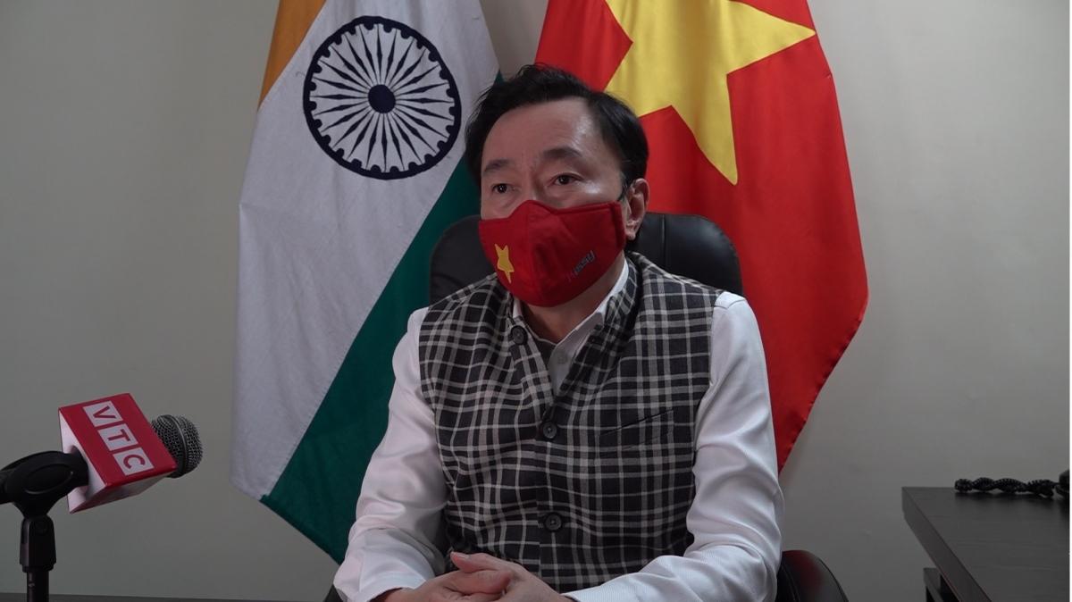 Vietnamese Ambassador to India Pham Sanh Chau. Photoo: VOV