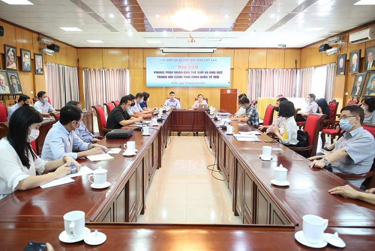 VUFO holds seminar on world people's movement