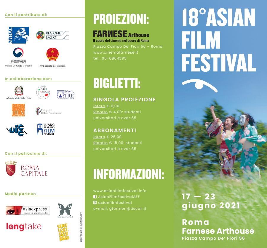 Film screening program of Asian Festival Film. Photo: Asian Festival Film