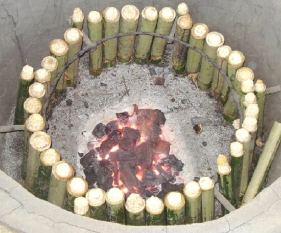 How to bamboo-tube rice: specialties of Vietnam's Northern mountainous