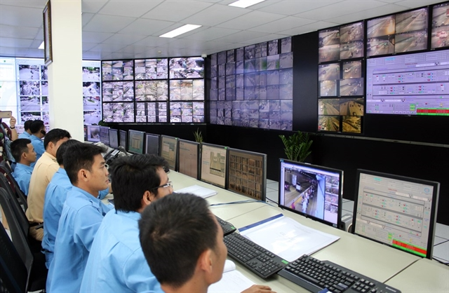 Smart traffic monitoring and operation centre in HCM City. Việt Nam targets to form a digital Government by 2025. Photo: VNS