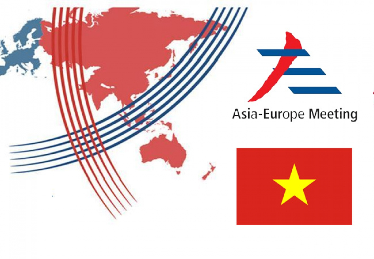 Over the last 25 years, Vietnam has always served as a proactive, dynamic, and responsible member of the Asia - Europe Meeting (ASEM) following its participation in the organization since 1996. Photo: VOV