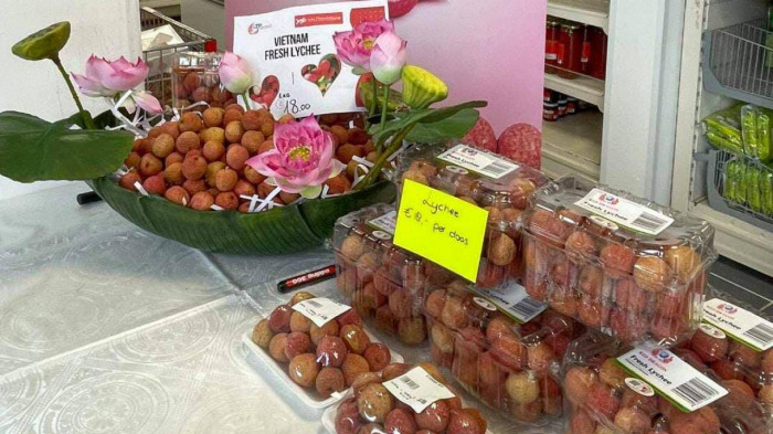 Sample lychee products have been sent to all Eurasian supermarkets in the Netherlands for testing. Photo: