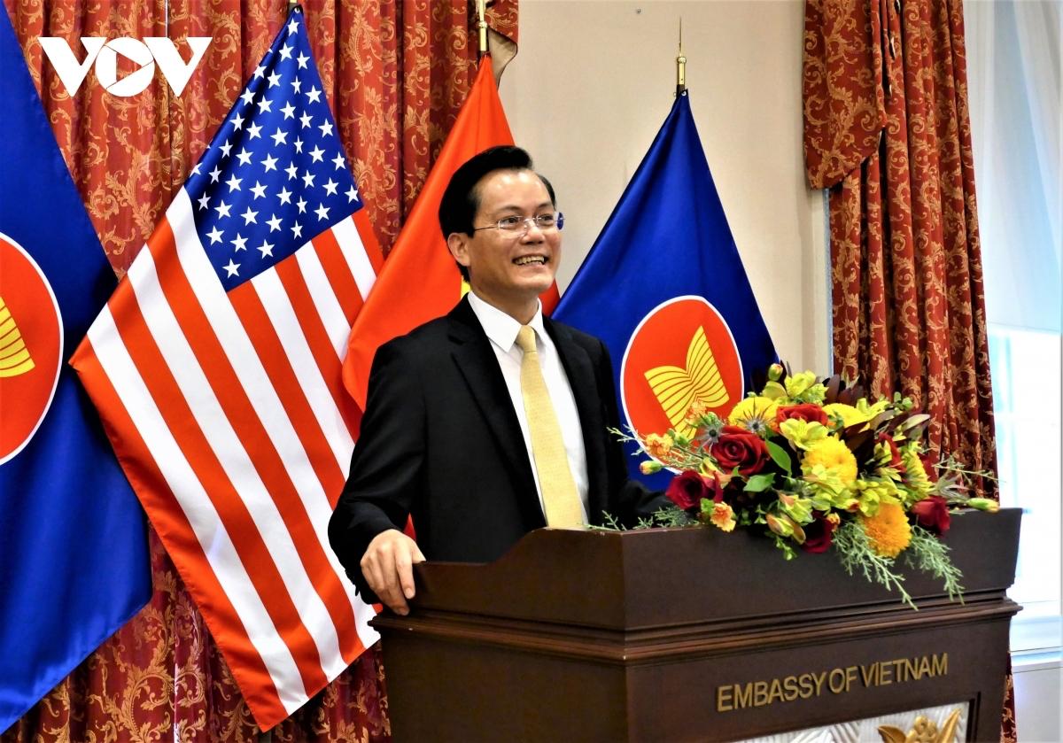 Vietnamese Ambassador to the United States Ha Kim Ngoc. Photo: VOV