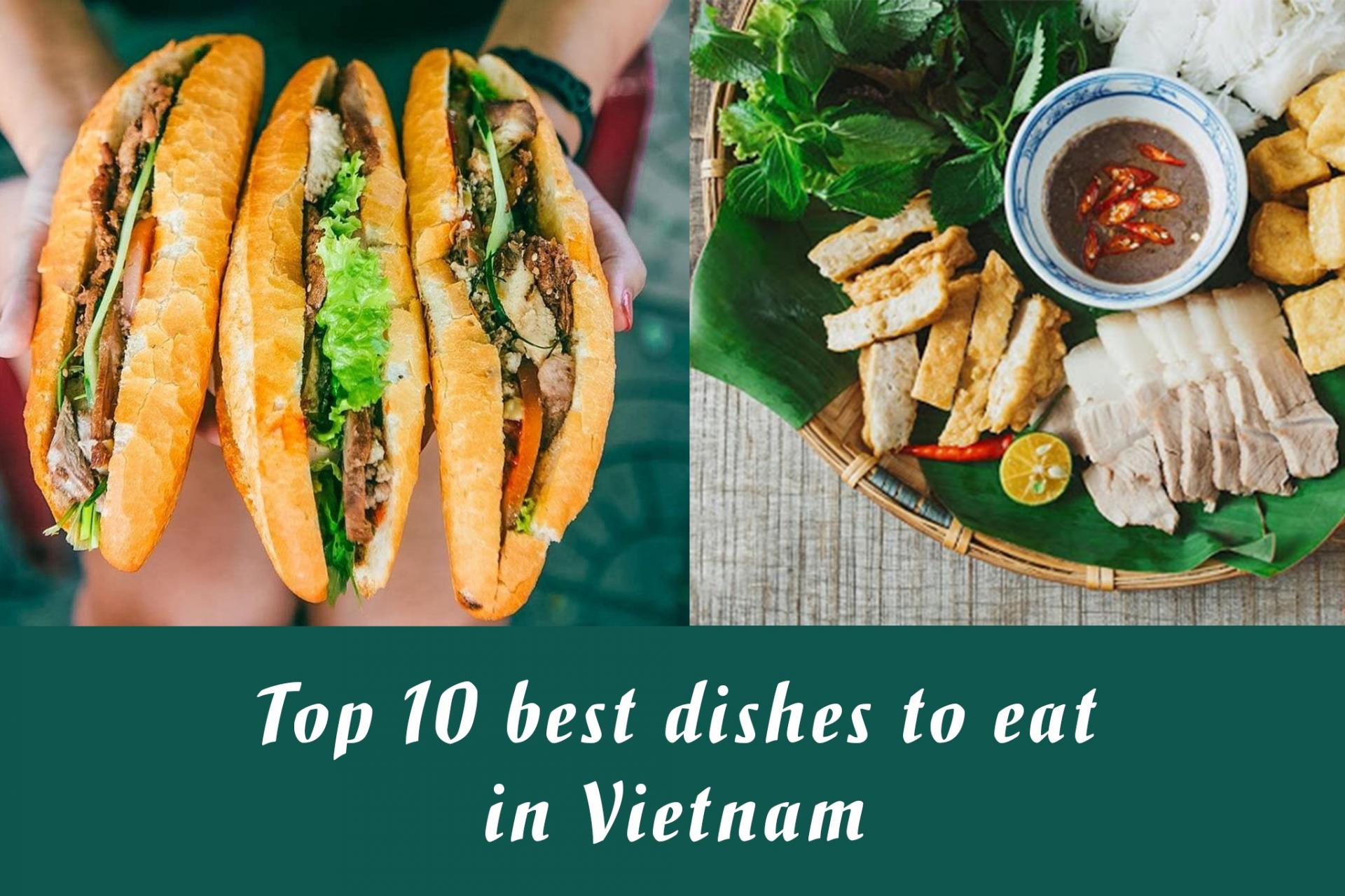 Top 10 Best Dishes in Vietnam - Video