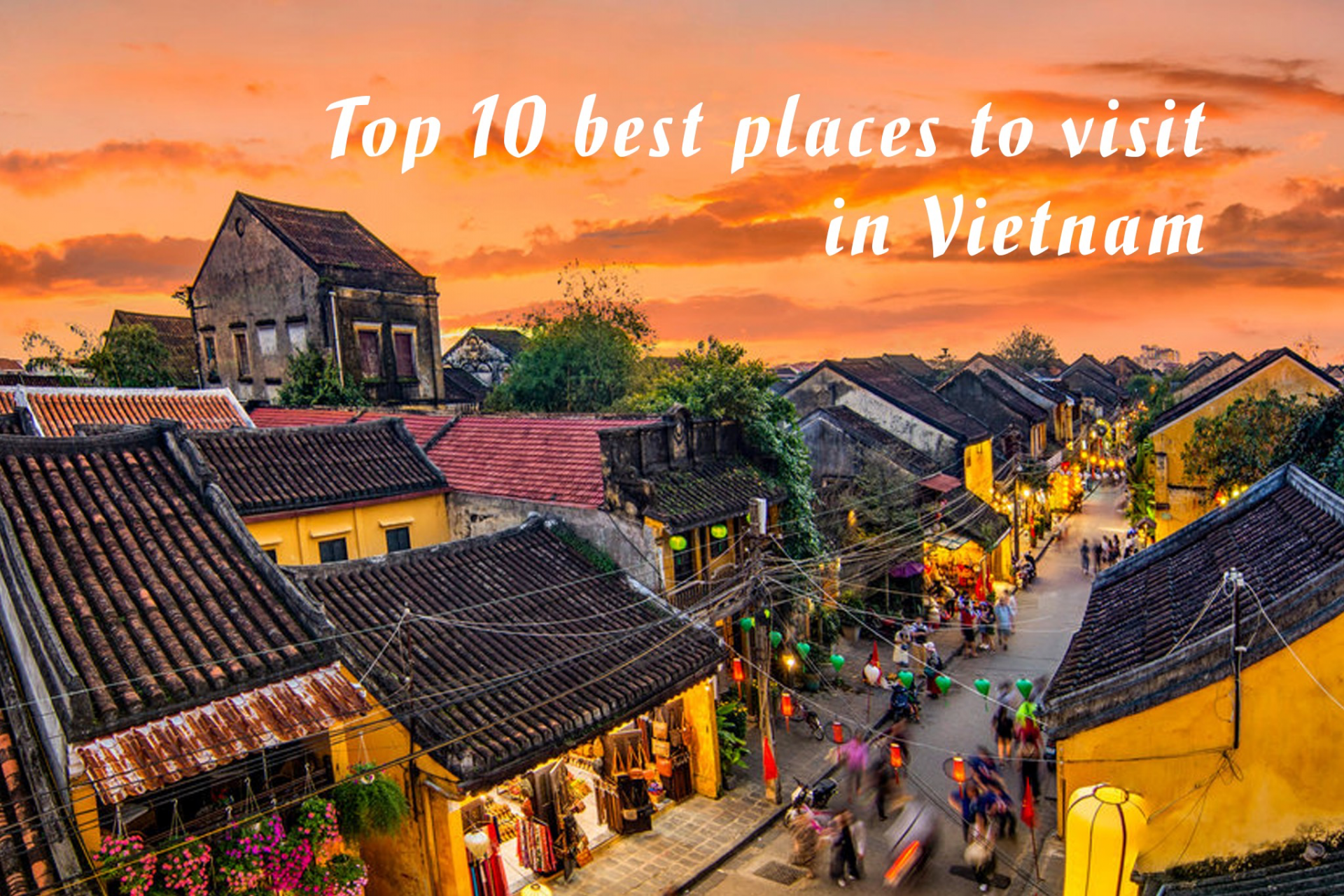 Top 10 Best Places to Visit in Vietnam - Video