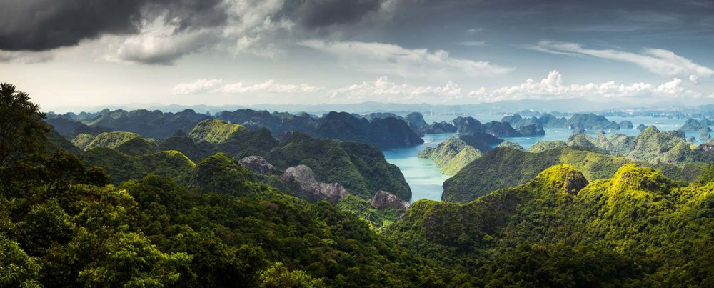Ha Long Bay natural heritage site in Vietnam. Photo: roughguides