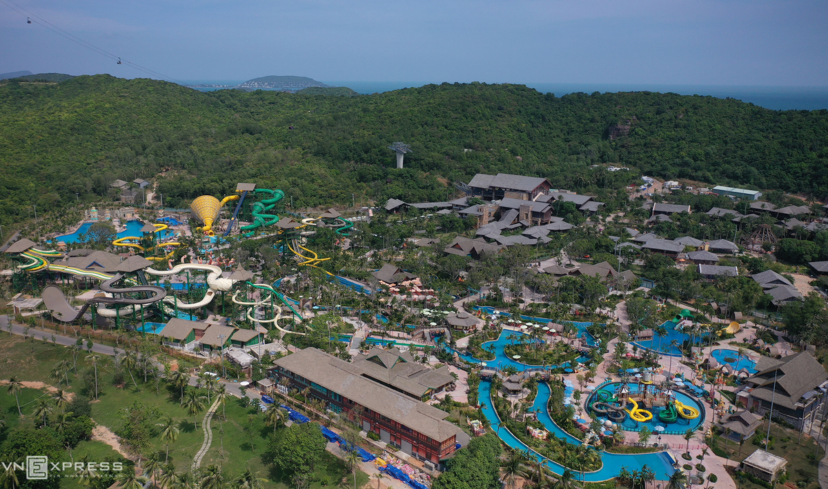 The amusement parks and zoos in Phu Quoc are the ideal attractions to make the travel schedule more attractive. Photo: VnExpress