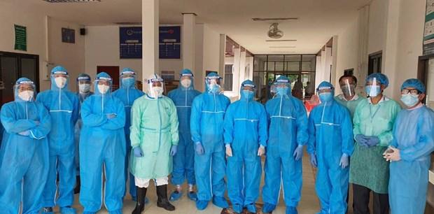 Covid-19: Vietnamese doctors and nurses on international missions