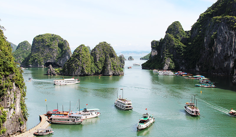 Quang Ninh once again has had to close the door to fight the pandemic. Photo: VNS