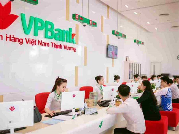 Customers at a VPBank branch in Hanoi. Photo VPB