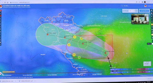 The low tropical pressure system is expected to cause heavy rains in northern and north central regions.