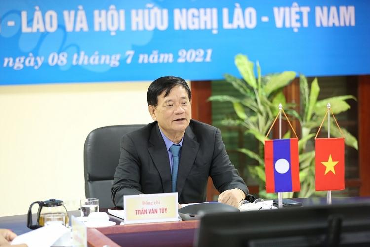 Friendship Associations of Vietnam and Laos Plan 2022 Activities