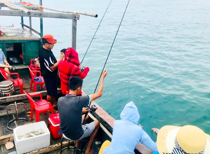 Co To Island: A Fisherman
