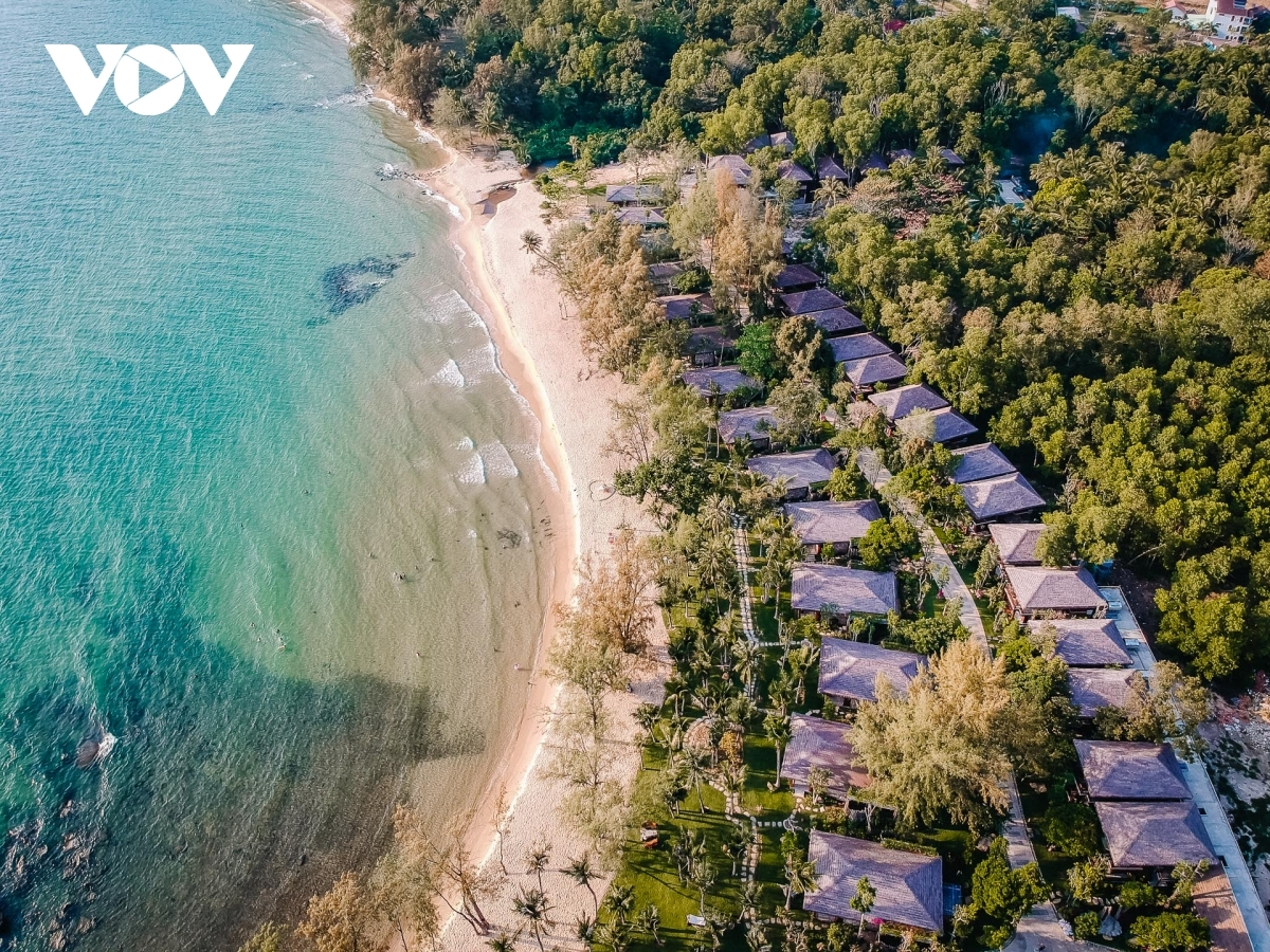 Ong Lang beach in Phu Quoc. Photo: VOV