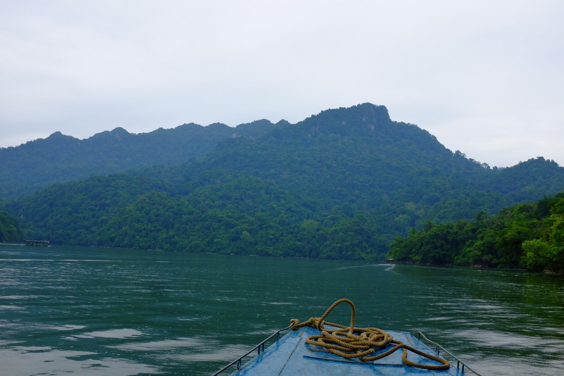 Ba Be lake in Bac Kan. Photo: erasmusu