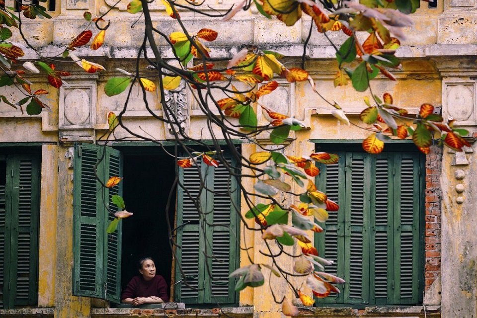 The typical architecture of Hanoi ancient house. Photo: indochinavoyages