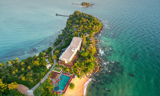 A resort on Phu Quoc Island in Kien Giang Province. Photo: Shutterstock